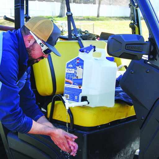 View a Larger Image of  5 Gallon Utility Can with Spigot