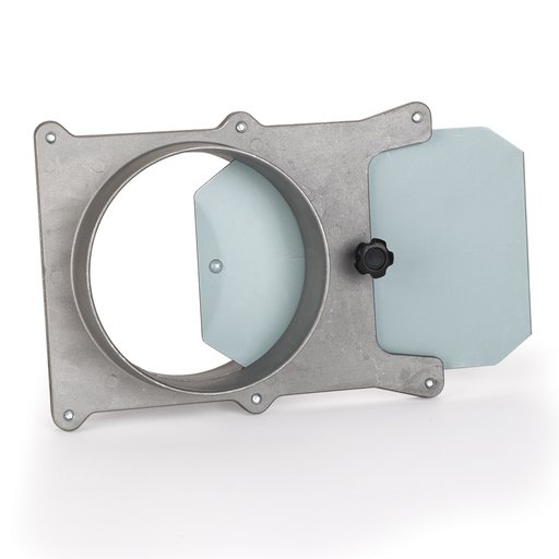 View a Larger Image of 5-inch Aluminum Blast Gate Dust Collection Fitting