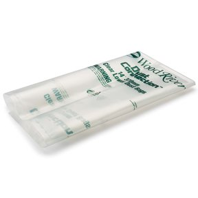 "5-Piece 370mm/14""-Diameter Clear Lower Dust Bags"