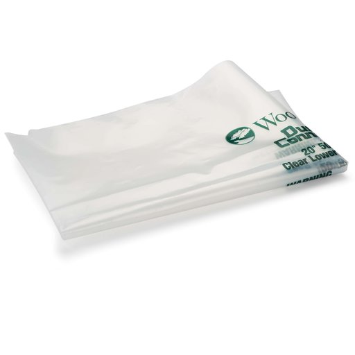 """View a Larger Image of 5-Piece 500mm/20""""-Diameter Clear Lower Dust Bags"""