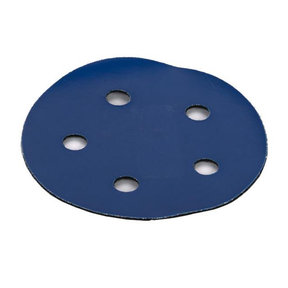 "5"" Sanding Pad Adaptor, PSA to Hook & Loop, 5 hole"