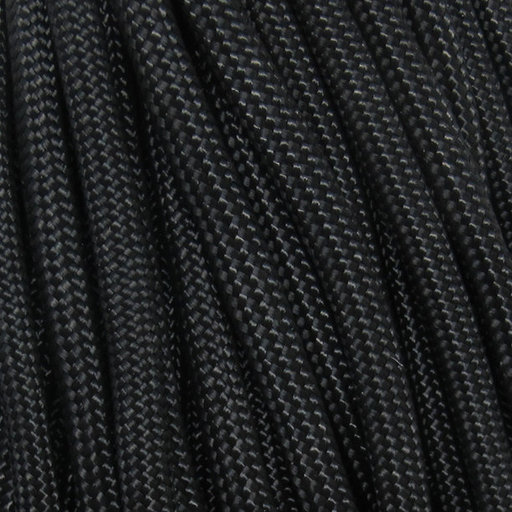 View a Larger Image of  550 FireCord - 50' BLACK Paracord