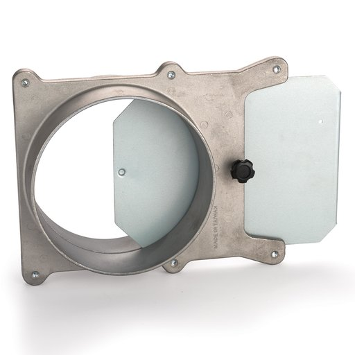 View a Larger Image of 6-inch Aluminum Blast Gate Dust Collection Fitting