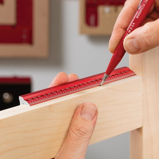 """View a Larger Image of 6"""" Woodworkers Edge Rule"""