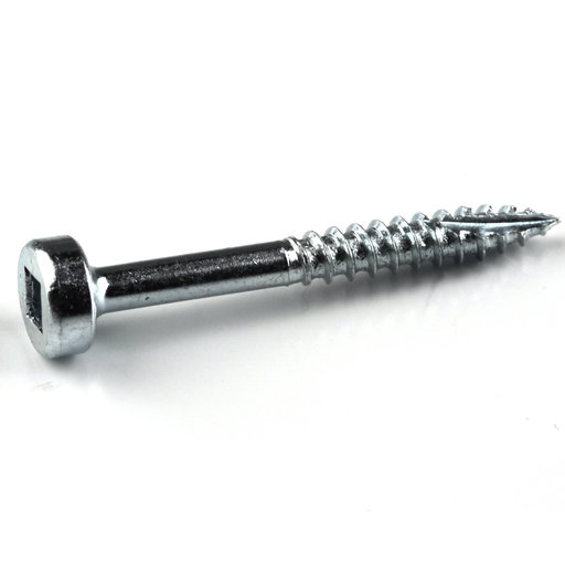 View a Larger Image of 6 x 1-1/4 Fine, Kreg Pocket Hole Screw, Pan-Head, Zinc, 100-Piece, SPS-F125-100
