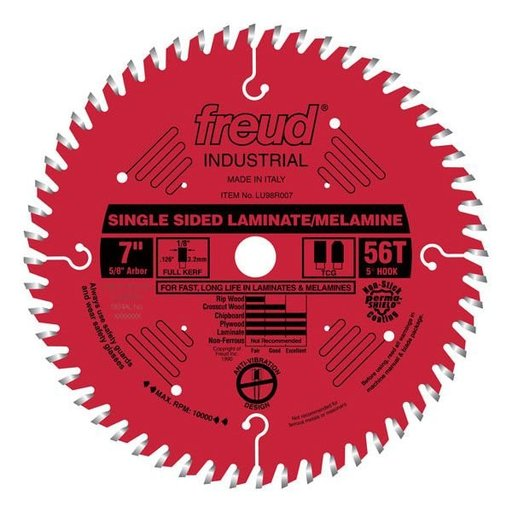 "View a Larger Image of 7"" Single Sided Laminate/Melamine Blade"