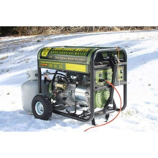 View a Larger Image of 7000 Watt Propane Generator