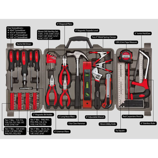 View a Larger Image of 71 Piece Household Tool Kit