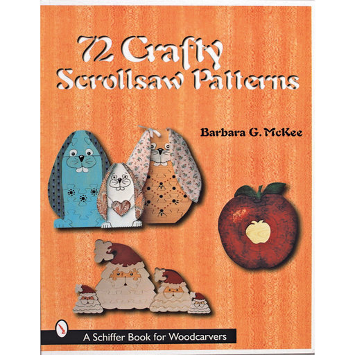 View a Larger Image of 72 Crafty Scrollsaw Patterns