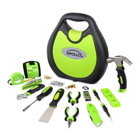 72 Piece Household Tool Kit - Green