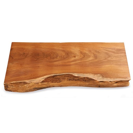 "View a Larger Image of 8/4 Madre Cacao Natural Edge Slab, 37"" x 14"" x 2"""