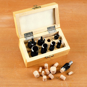 8 Piece Deluxe Plug Cutting Kit