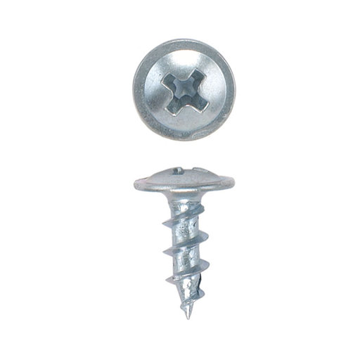 View a Larger Image of 8 x 1/2 HighPoint Ball Bearing Slide Screws, Round Washer Head, Zinc, 100-Piece