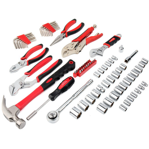 View a Larger Image of 80 Piece Mechanics Tool Kit