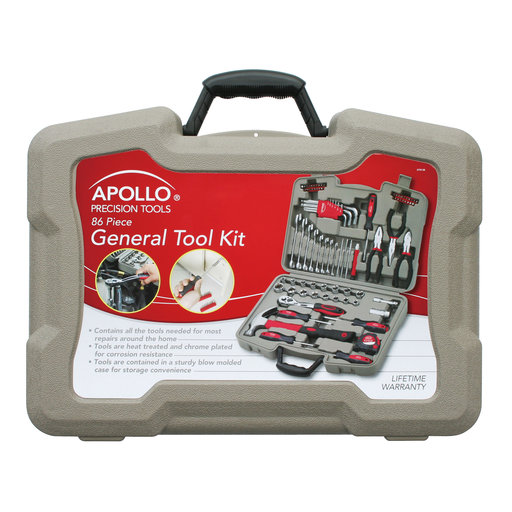 View a Larger Image of 86 Piece General Tool Kit