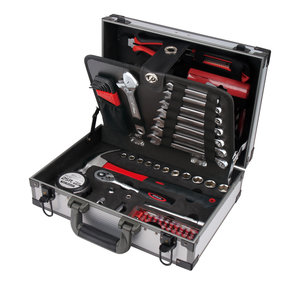 96 Piece Deluxe General Tool Kit in Aluminum Case