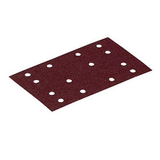 View a Larger Image of 80 mm x 133 mm Rubin2 StickFix Hook and Loop Sanding Sheet P60 Grit 10 pk