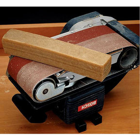 "Abrasive Belt Cleaner, 2"" x 2"" x 12"""