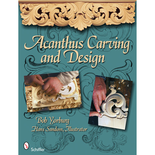 View a Larger Image of Acanthus Carving