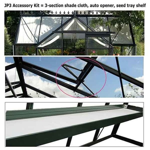 View a Larger Image of Accessory Kit for Orangerie Greenhouse