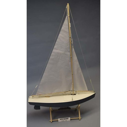 View a Larger Image of Ace Racing Sloop Boat Kit