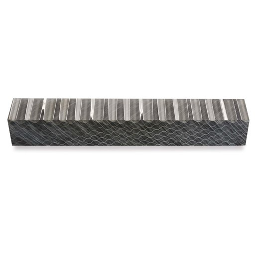 View a Larger Image of Acrylic Honeycomb Pen Blank - Black