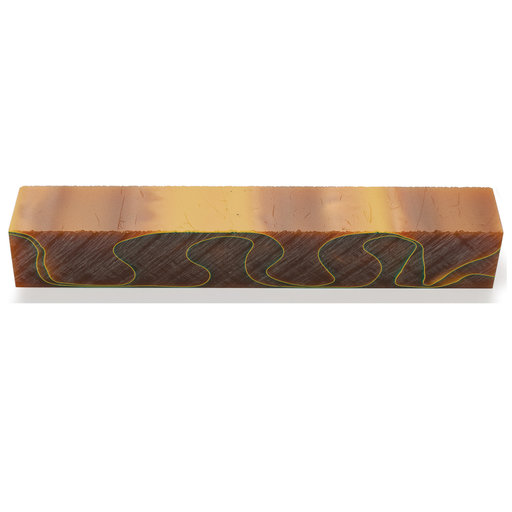 View a Larger Image of Acrylic Pen Blank - Brown Topaz