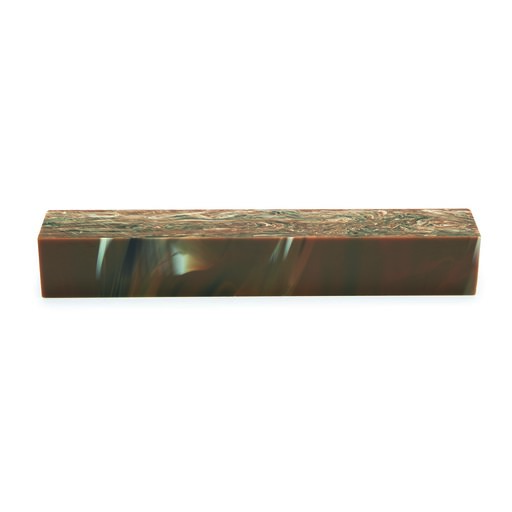 View a Larger Image of Acrylic Pen Blank - Chocolate Swirl