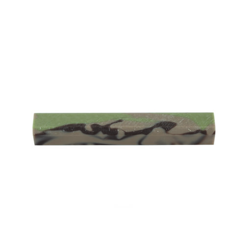 View a Larger Image of Acrylic Pen Blank - Desert Camo