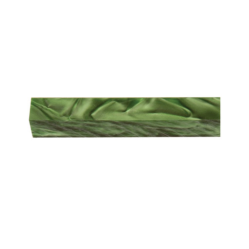 View a Larger Image of Acrylic Pen Blank - Fern Green