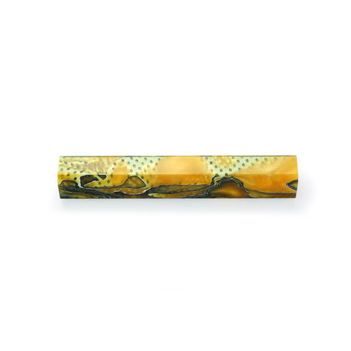View a Larger Image of Acrylic Pen Blank - Golden Rod