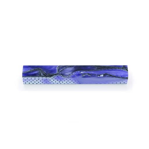 View a Larger Image of Acrylic Pen Blank - Grape Fury