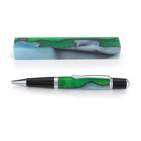 Acrylic Pen Blank - Irish Hill