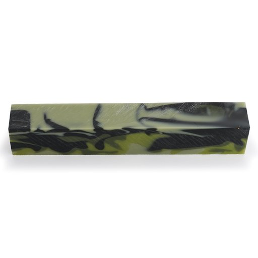 View a Larger Image of Acrylic Pen Blank - Jungle