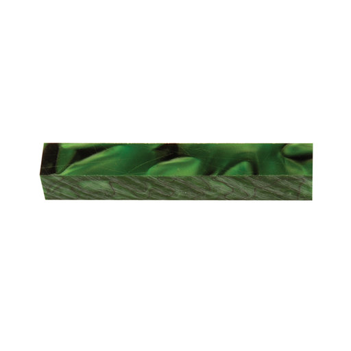 View a Larger Image of Acrylic Pen Blank - Kelly Green