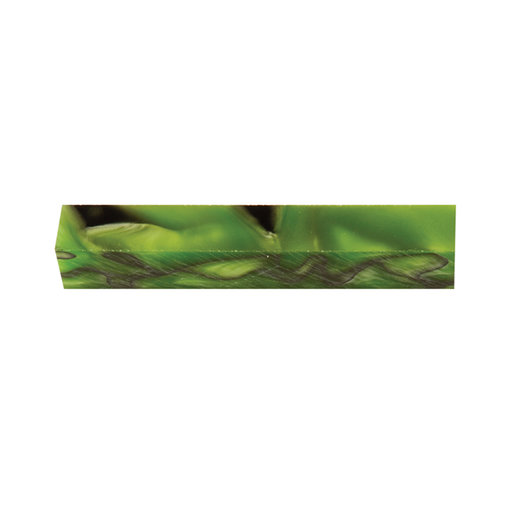 View a Larger Image of Acrylic Pen Blank - Kryptonite