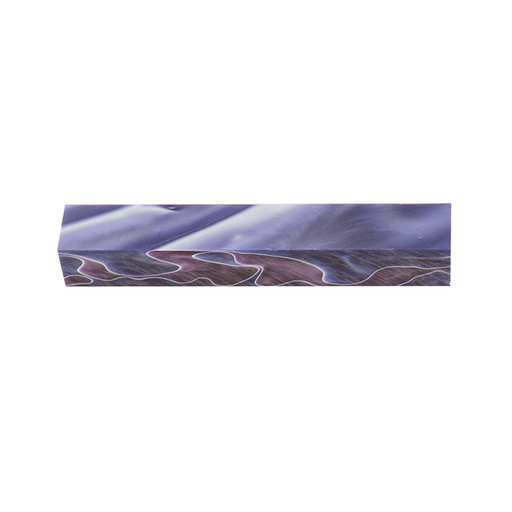 "View a Larger Image of Acrylic 3/4"" x 3/4"" x 5"" Purple Rain Turning Stock"
