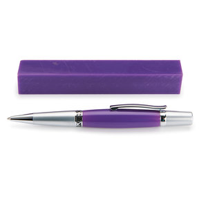 Acrylic Pen Blank - Purple