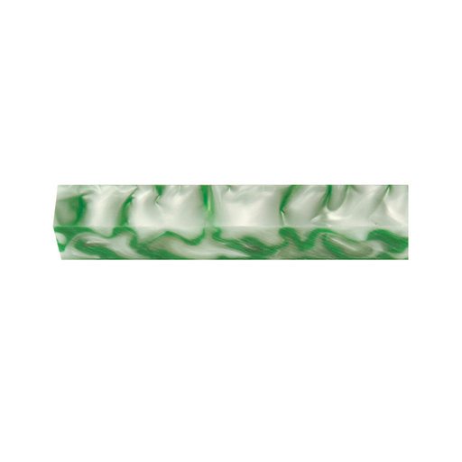 View a Larger Image of Acrylic Pen Blank - Shamrock