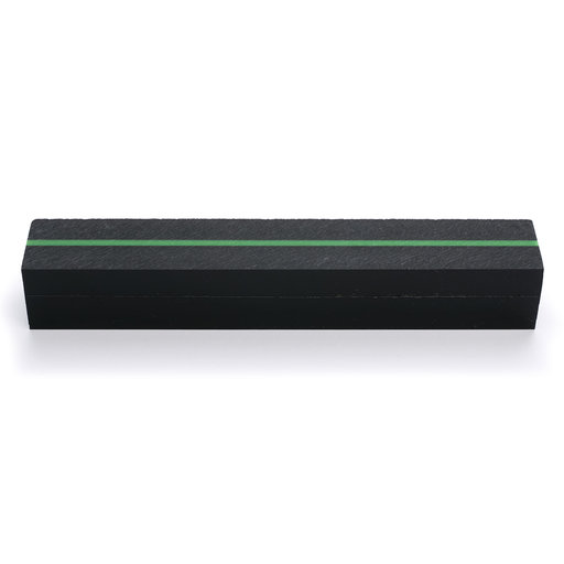 View a Larger Image of Acrylic Pen Blank - Thin Green Line