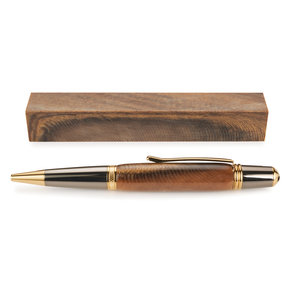 Acrylic Poly Resin Pen Blank - Aged Walnut