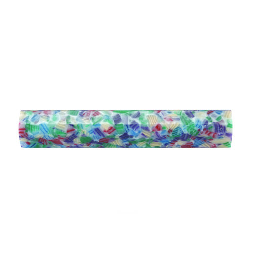 View a Larger Image of Acrylic Poly Resin Pen Blank - Birthday Sprinkles