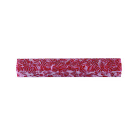 Acrylic Poly Resin Pen Blank - Candy Cane