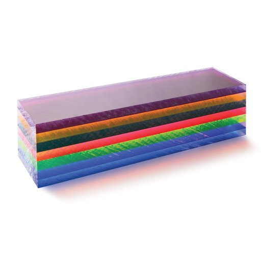 """View a Larger Image of Acrylic Turning Stock Blank - Dark Prism 1-1/2"""" x 1-1/2"""" x 6"""""""