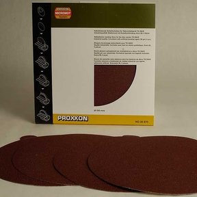 Adhesive Sanding Disk, Aluminum Oxide 80 Grit, Pack of 5