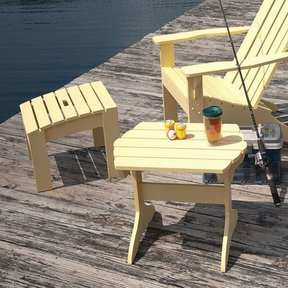 Adirondack Table & Footstool - Downloadable Plan