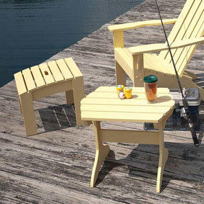 Adirondack Table & Footstool - Paper Plan