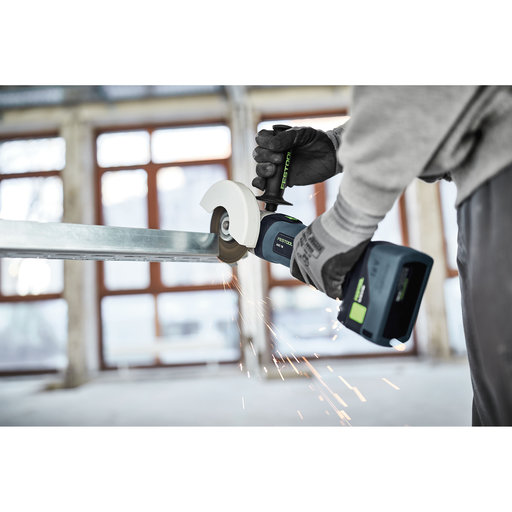 View a Larger Image of AGC 18 Cordless Angle Grinder EBI-Plus