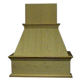 "30"" Decorative Hood Hickory"