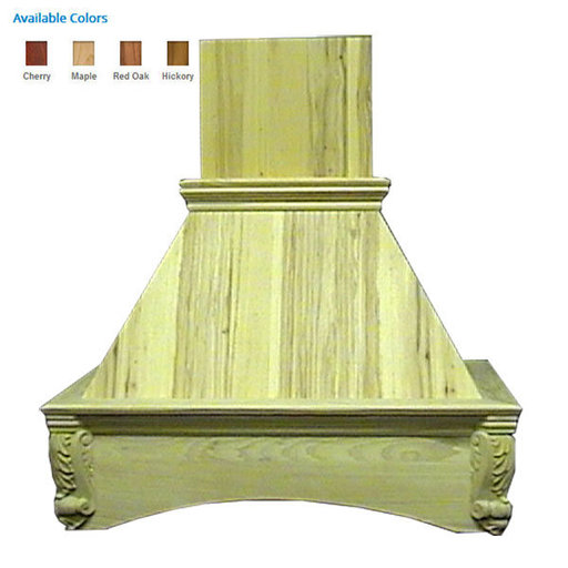 """View a Larger Image of 36"""" Arched Corbel Cherry"""